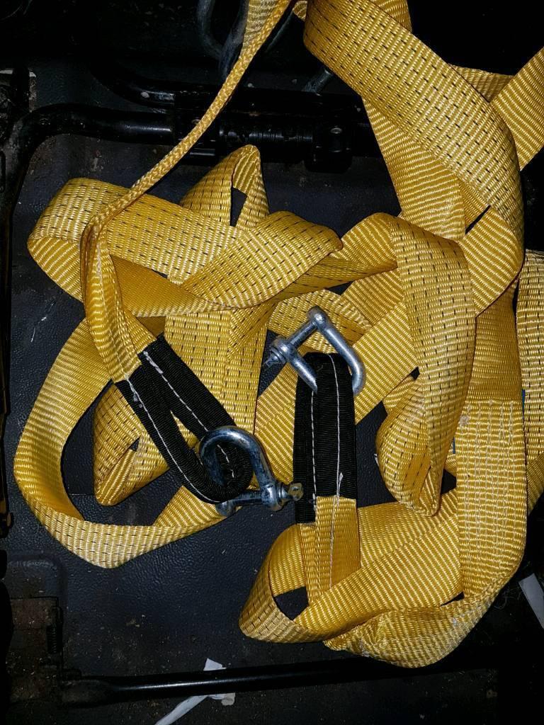 Heavy-duty tow rope