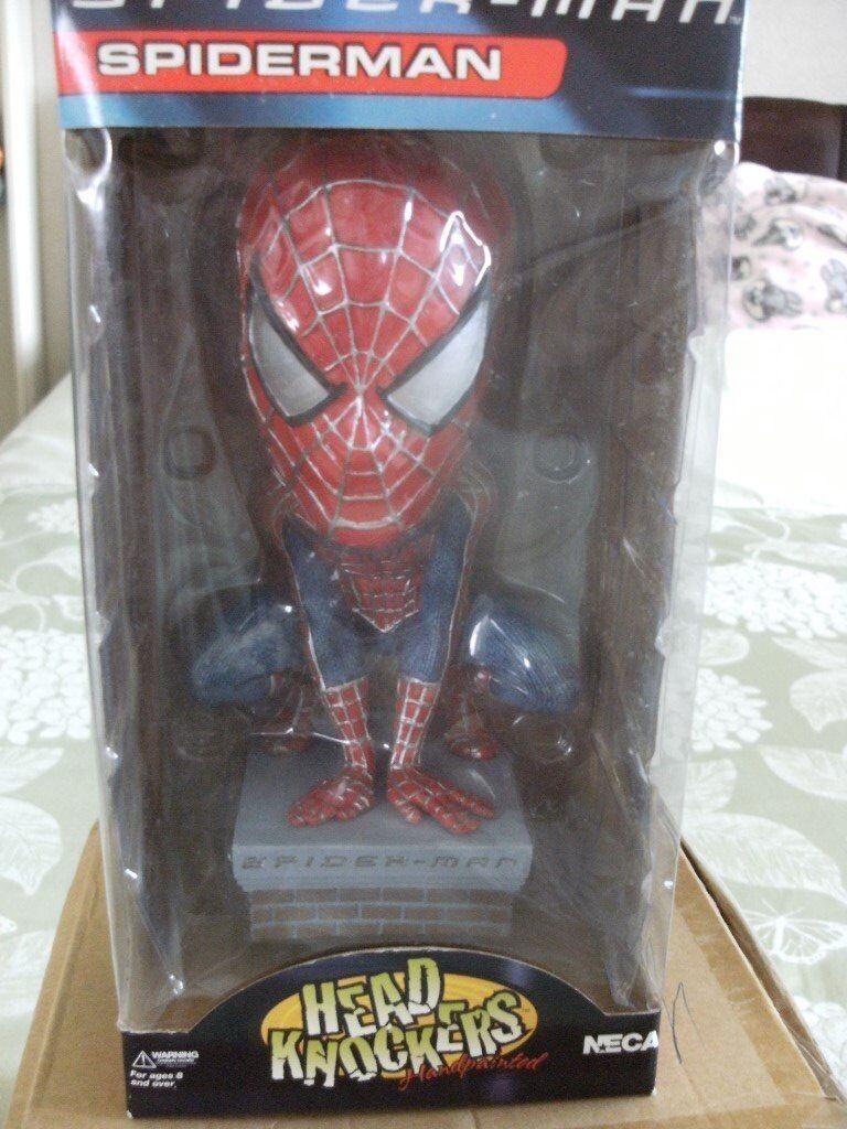 SPIDERMAN HEAD KNOCKER (Brand New & Boxed)