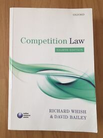 Competition Law - Richard Whish, David Bailey