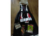 Queen of Hearts Fancy Dress Costume 10-12