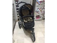 JANE SLALOM PRO PRAM + CAR SEAT & CARRY BAG in EXCELLENT condition!