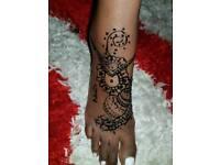 Henna tattoes