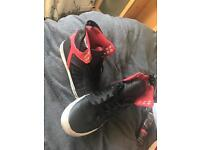 Supras muska 001 unlimited addition black and red.