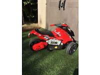 Avigo 3 wheel 6v motorcycle kids - faulty