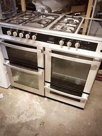 Range gas and electric Stoves dual fuel cooker 100cm