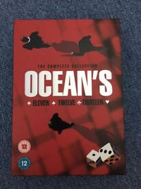 Ocean's Trilogy DVD Film Collection
