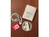 iPod Mini Shuffle 2GB with New Ear Phones, Used Docking Station and Original Box & Booklet