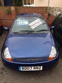 2007 Ford ka 10 months mot