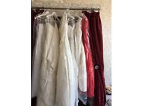 17 wedding dresses plus other stock selling as a job Lot cash on collection only