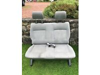 VW T4 rear seats double and single folding
