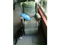 Reclining Chair Will Need Some Attention £20.00