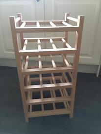 18 Bottle Wine Rack
