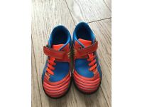 Boys Clarks shoes size 9 1/2f