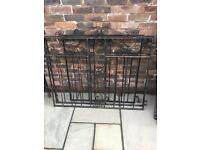 Wrought iron driveway gates and front gate