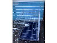 Large SAVIC heavy duty dog crate