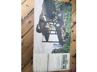 Tesco's double grill charcoal bbq brand new