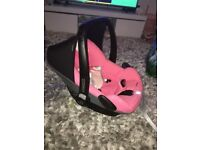 PINK MAXI COSI PEBBLE CAR SEAT