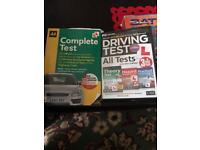 AA Driving complete test book and all tests Driving test DVD theory, hazard and practical