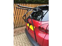 Bike rack for hatchback
