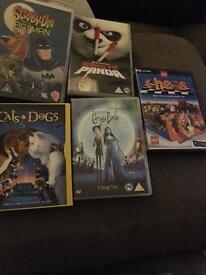 DVD and PC game bundle inc Batman Scooby Doo and Kungfu Panda
