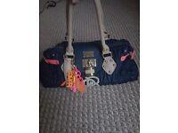 Paul's Boutique Navy Handbag