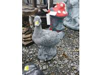 Duck concrete garden ornaments