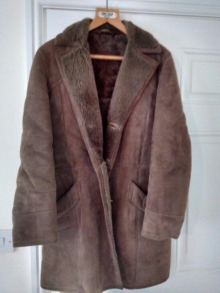 Men's vintage Sheepskin Coat for sale | in Penarth, Vale of ...