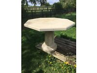 Cotswold stone table