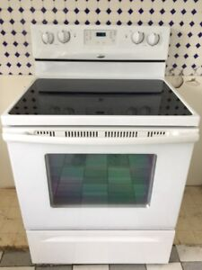 New price!!! Whirlpool glass top stove/self cleaning oven