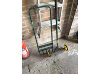 Lawn aerator and scarifier