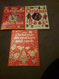 Set of 3 christmas craft books