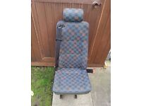 Minibus seats or van, vito, vw T4, Double and a single with belts