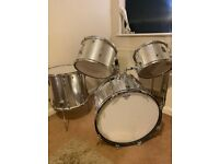 Vintage 1970s Premier Drum Kit with Linko Snare and Paiste Hi-Hat