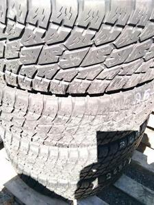 P265/70R18x4 NITTO ALL TRAIN USED TIRES FOR SALE