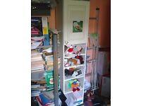 White Storage Display Shelving Unit Cupboard Cabinet Shelf Shelves Picture Frame