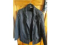 Men's fancy dress gangster costume size L