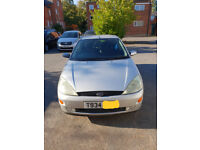 Ford Focus 1.6 (9months MOT) Good runner. 19 service stamps (Exhaust blowing) needs changing