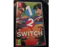 1-2 switch on Nintendo switch £25