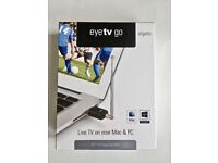 TV Tuner (Brand New) - Watch live TV on Mac & PC, Elgato EyeTV Go