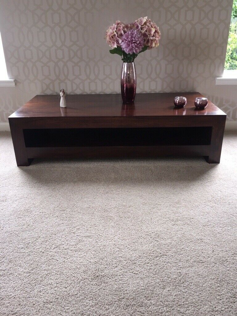Remarkable Belgica Dark Wood Coffee Table Good Condition In Borrowstounness Falkirk Gumtree Ibusinesslaw Wood Chair Design Ideas Ibusinesslaworg