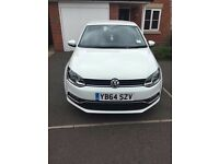 Volkswagon Polo Bluemotion Diesel Car with Satnav and bluetooth