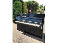 Yamaha M5J Upright Piano  Black Case  Belfast Pianos  