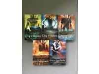 Mortal Instruments series by Cassandrq Clare