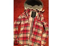 Superdry shirt with detachable hood