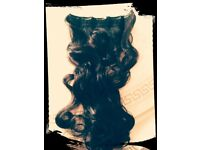 (New) dark brown hair exdtensions