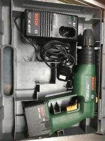 Bosch PSB 12 VSP Drill, battery and charger