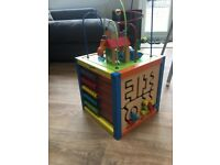 Multifunction play cube baby/toddler