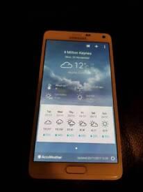 Samsung Note 4 - White 32GB Unlocked