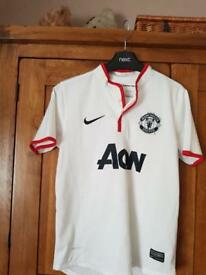 Kids Manchester United football top