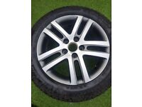 VW GOLF Wheel and tyre